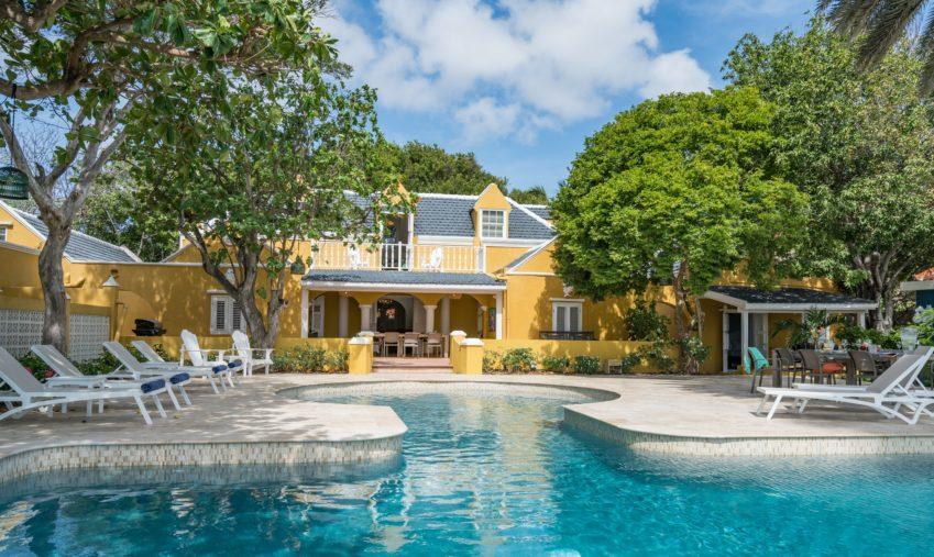 Uitzicht op Sirena Bay Estate Curaçao©Sirena Bay Estate Curaçao